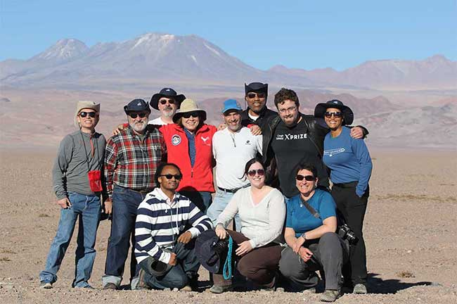Ambassadors visit the Atacama Desert following a successful visit to the ALMA high-site at 16,500 ft