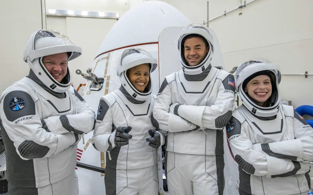 Inspiration4 'Go' for First All-Civilian Orbital Mission to Space (by https://inspiration4.com/)
